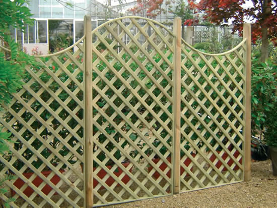 Honeysuckle Garden Products Ltd Products Lattice Domed and